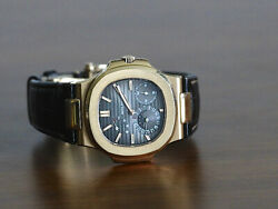 Patek Philippe 5712R Nautilus Rose Gold Moonphase Date Small Second Power Res BP