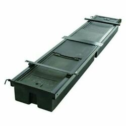 Lippert 236558 Rv Double Box Under Chassis Storage Toolbox System Unit Black