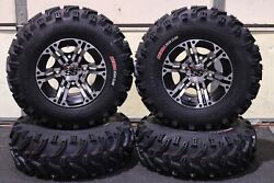 Can Am Outlander 400 25 Bear Claw Atv Tire And Itp Ss212 M Wheel Kit Can2ca