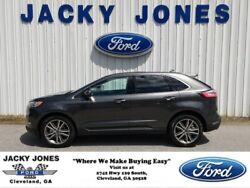 2019 Ford Edge Titanium 2019 Ford Edge Magnetic Metallic with 6 Miles available now!