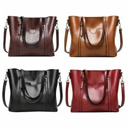 Fashion Women Leather Handbag Purse Ladies Shoulder Messenger Bag Crossbody Tote $18.99