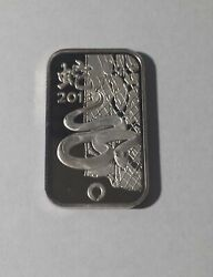 😃2013 Chinese Zodiac Year Of The Snake 1 Oz .999 Silver Art Bar Only 1 On Ebay