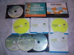 Lot Of 21 Cd's, Joyce Meyer- Over Coming Wrong Mind Sets, Amazing Grace, Power +