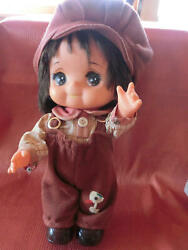 Retro Japan Made Dress Up Doll Movable Arm Neck Collectible Boy Girl 1970s F/s