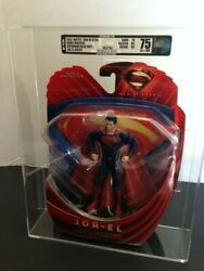 Mattel Man of Steel Movie Masters Jor-El Error (2013) (AFA 75) EX+NM Superman