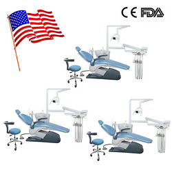 3 COMPLETE SET MEDICAL DENTAL CHAIR W/STOOL COMBINATION Computer Control FDA 4-H