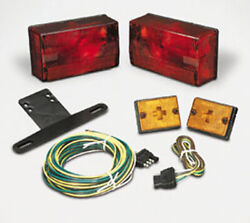 Cequent Trailer Light Kit W/20' Wire Harness Submersible 4x6 Over 80 407515