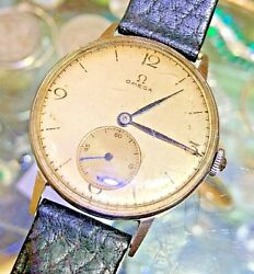 1920-40 Omega 30t2,very Old Vintage Watch Manual Movement Collectible