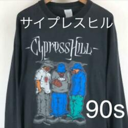 Cypress Hill Tour Long-sleeve T-shirts 90s' Vintage Mens Xl From Japan F/s