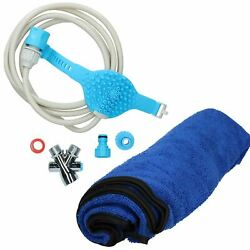 Pet Dog Bathing Tool Shower Sprayer For Grooming Dog Washing And Towel