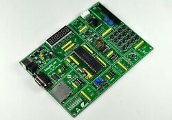 Pic Development Board Easypic-40 For 40p Pic Mcus With Pic18f452 Mcu On Board