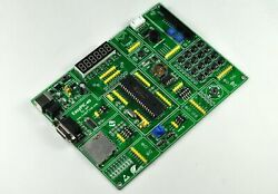 Pic Development Board Easypic-40 For 40p Pic Mcus With Pic16f887 Mcu On Board