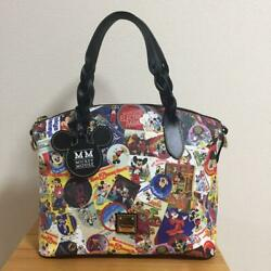 Disney World Dooney And Bourke Collaboration 2 Way Bag Mickey Mouse Usa Wdw F/s