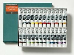 Turner Acryl Gouache Japanesque 24 Color Set 20ml Tubes