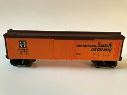 Lionel 6-5715 Santa Fe Reefer S.f.r.d. 1983-1984 Route Of The Cheif