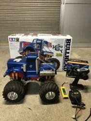 Tamiya Bullhead Complete Set 4ws 4wd 2motors Powerful 1/10 Scale F/s From Japan