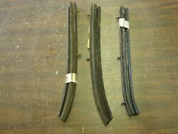 Nos Oem Ford 1965 1966 1967 1968 Mustang Convertible Top Rubbers Weatherstrips