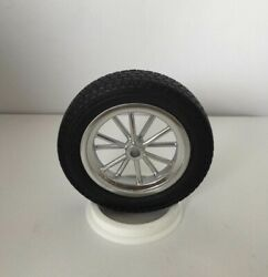 Two 1:8 3d Printed Wheels For The Revell Monogram for soft Front Skinny 135 Tire $30.00