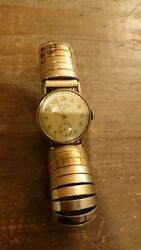 Lord Elgin 14k Gold Antique Watch 1940s Manual Wind From Japan F/s