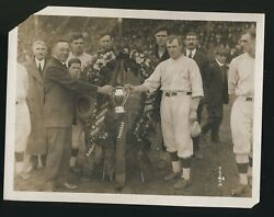 1915 Bill Carrigan Babe Ruth Original Photo PSADNA Type I Boston RED SOX ROOKIE