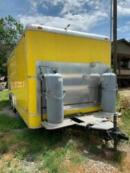 Used 8' x 20' Self-Contained Food Concession Trailer for Sale in Colorado!