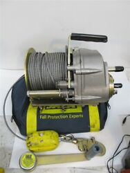 Dbi /sala L1850-60, Confined Space Winch, 60' Cable, 350 Lbs. Rated Load, Used
