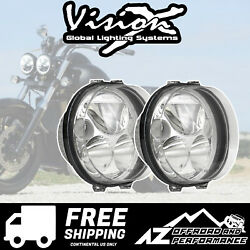 Vision X 5.75 Road Glide Motorcycle Xmc Led Headlight Kit 8420lm 84w 9895673