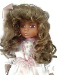 Collectible Doll . Lissi Doll Cora 20 Produce In 1993 By Lissy Doll Factory .