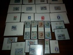 Fsat Taaf Maps Collection 13 De Luxe S/s And 12 Imperf. Items Mnh Rare
