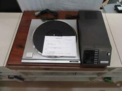 TECHNICS SP-10MK3 Turntable Record Player & Control Unit Repaird Tested Working