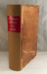 Antique Book History Of The United States Secret Service By Gen Lc Baker 1868
