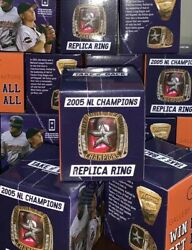 Houston Astros Bagwell Nl Champions Replica Ring 2005 Rare And Exclusive Item