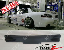 89-93 S13 240sx Rb Style Trunk Spoiler Wing 2dr Coupe Rocket