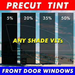 Precut Tint Front Two Door Windows Computer Cut Any Film Shade For All Gmc