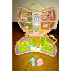 1976 Little Twin Stars Kiki And Lala Moon House W/dolls Vintage Toy From Japan