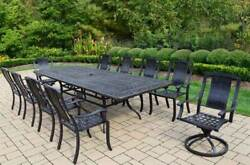 11-Pc Dining Set in Aged Finish [ID 3841211]