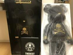 Black Sense Be@rbrick 1000 Mastermind Limited Edition From Japan F/s