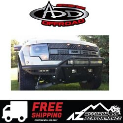 Add Race Series Front Bumper Black For 2010-2014 Ford F150 Raptor