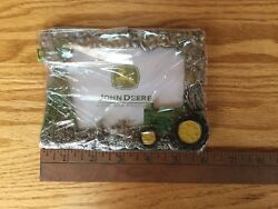 """John Deere Pewter Collection ,picture Frame Holds 5"""" X 3.5 """" Photo ,new Sealed"""