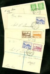 Edw1949sell Jersey Collection Of 3 First Day Covers And 1 First Day Post Card.