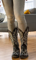 Old Gringo Diego Crystal Boots Black Style L1202-2