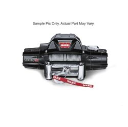 Warn 88990 Zeon 10 Wire Rope 10000lbs Winch For 95-00 Toyota Tacoma