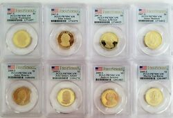 Presidential Dollar Pcgs Pr70dcam First Strike Complete Set All 39 Coins 💥