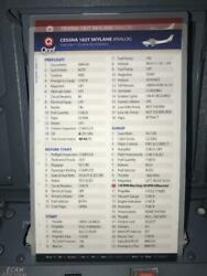 Cessna 182t Skylane Quick Reference Checklists By Qref 2 Card Set P/n Ce-182t-2