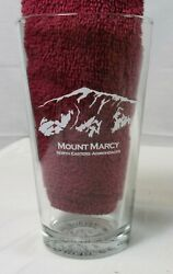 Etched Mount Marcy Pint Glass | Us Geo Survey By Mountain Gear | New
