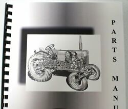 Allis Chalmers B-12 Lawn And Garden Parts Manual