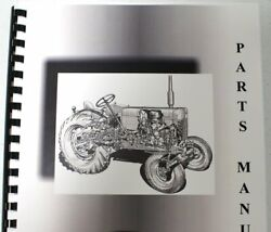 Ford Dearborn Disc Plow Model 10-246 Parts Manual