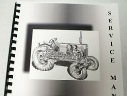 Allis Chalmers B-12 Lawn And Garden + Equip. Service Manual