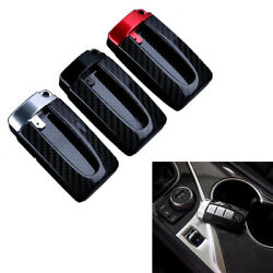 Remote Smart Key Fob Shell Case Cover Carbon Fiber for Nissan Altima Armada GT-R