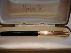 Parker 51 Fountain Pen Special Edition Empire State Medium Pt New In Box